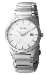Bulova Men's 96B015 Bracelet Calendar Watch