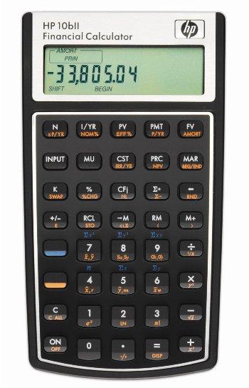 HP 10bII Financial Calculator