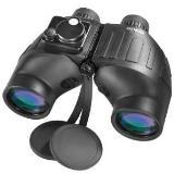 BARSKA Deep Sea 7x50 Waterproof Binocular w/ Internal Rangefinder & Compass
