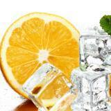 Líquido para cigarros electrónicos de vapor E-liquid naranja con menta de 30 ml Nicotina 12 mg