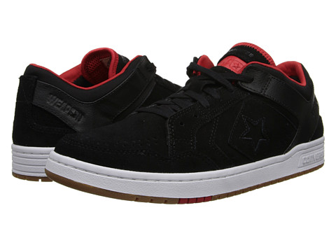 CONVERSE Weapon 86 Skate Tenis (BlackRed) US 10.0M, Hombre
