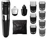 PHILIPS NORELCO MULTIGROOM SERIES 3000, 13 ACCESORIOS, FFP, MG3750