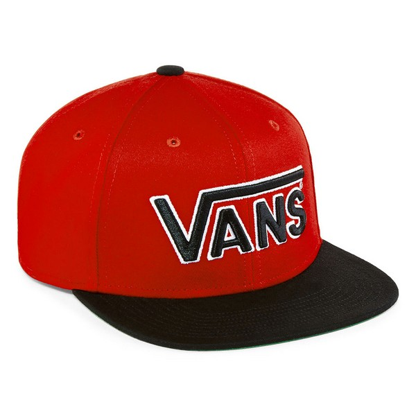 0d4ff41c7749 Gorra VANS 1ca8 (Rojo/Negro) Mediana, Ajustable, Unisex