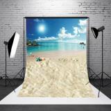 ESTUDIO FOTOGRÁFICO DE FONDO DE VINILO DE FONDO PARA EL DÍA DE SAN VALENTÍN DE 5X7 PIES TIPO DE ACCESORIOS FOTOGRÁFICOS: SUN SEA BEACH