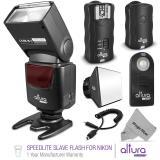 ALTURA FOTO SPEEDLITE SLAVE FLASH + Kit de disparo inalámbrico para Nikon de Altura Foto ®