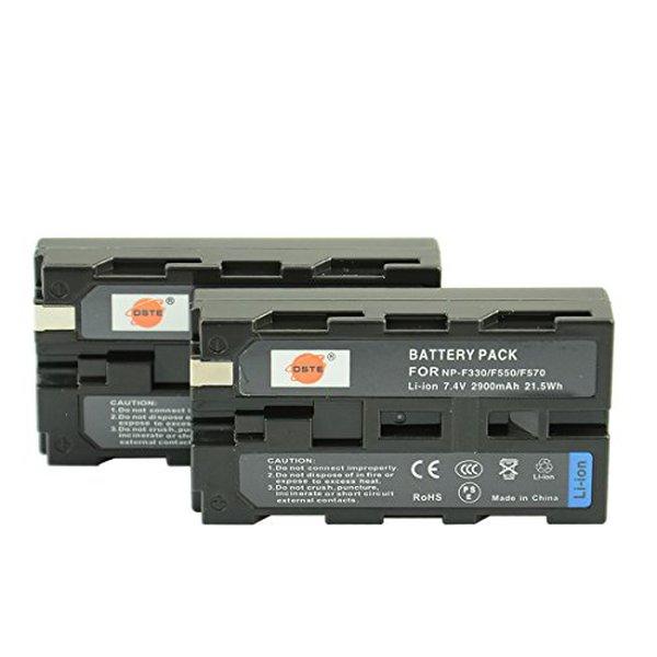 DSTE 2X NP-F550 BATERÍA DC01 ADAPTADOR DE VIAJE Y CARGADOR DE COCHE para Sony CCD-RV100 CCD-RV200 SC5 SC9 TR1 TR940 TR917 Cámara CN-160 CN-216 CN-304 YN 300