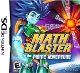 Math Blaster in the Prime Adventure Nintendo DS