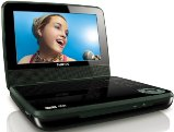 Philips PET741B/37 Portable DVD Player with 7-Inch LCD, Black