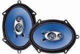 Pyle PL573BL 5-Inch x 7-Inch and 6-Inch x 8-Inch 300 Watt Three-Way Speakers