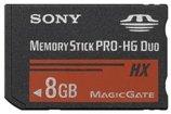 Sony 8 GB PRO-HG Duo HX Memory Stick MSHX8A (Black)